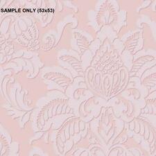 ** SAMPLE Arthouse Glisten Damask Blush