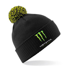 MONSTER ENERGY DRINK CLAW - Embroidered Beechfield Snowstar Beanie Hat MENS CLOT