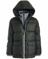 NWT MICHAEL KORSBoysBlack Puffer Jacket With Fleece Bib(Size 10/12)MSRP$150.00