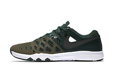MENS NIKE TRAIN SPEED 4 AMP SHOES SIZE 9 green black brown 844102 309