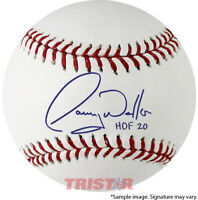 Larry Walker Signed Autographed Official ML Baseball Inscribed HOF 20 TRISTAR