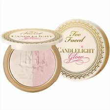 TOO FACED Candlelight Glow Highlighting Powder Duo LIMITED EDITION~ROSY GLOW