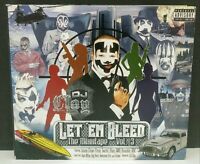 Dj Clay Let 'Em Bleed Mixxtape Vol. 3 CD Digipack, Insane Clown Posse