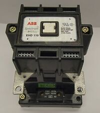 ABB EHD 110 Specturm Solid State Drive Contactor 2-Pole 110 Amp 120VAC Coil 110A