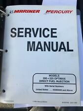 MERCURY OUTBOARD SERVICE MANUAL 200HP 225HP OPTIMAX 90-859769 ENGINE MOTOR EBAY