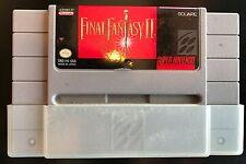 Final Fantasy II 1991 SNES Super Nintendo Game Cartridge Only