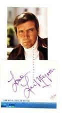 Lee Majors vintage signed page,  AFTAL#145