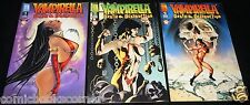 Harris Comics VAMPIRELLA: DEATH & DESTRUCTION #1-3 Complete Limited Series Set