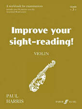 Violin: Grade 3 (Improve Your Sight-reading!) (Improve Your Scales!), Harris, Pa
