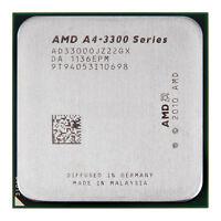 AMD A4-3300  2.5 GHz dual core Socket FM1 A4-Series CPU AD3300OJZ22GX  1MB cache