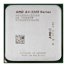 AMD A4-3300  2.5 GHz dual core Socket FM1 A4-Series CPU AD3300OJZ22GX  1MB cache