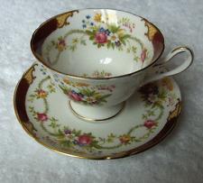 Shelley England china DuBarry cup & saucer set~Gainsborough shape-NR