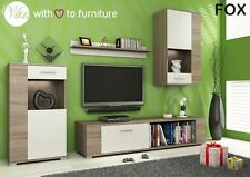 Modern Living Room Furniture Set FOX TV Stand Cabinet Unit Cupboard Wall Mounted
