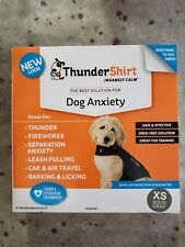 Thundershirt Dog Extra Small Xs 8-14lbs Solid Gray Best Solution for Anxiety