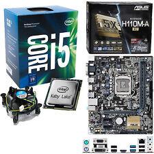Intel Core i5 7600 3.5Ghz (4.1Ghz) Asus H110M-A/M.2 ohne RAM