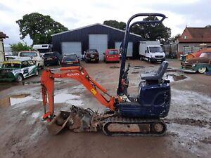 Kubota KX008-3 1 Ton Mini Micro Digger, Excavator