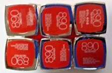 2 pk MAYBELLINE COLOR SENSATIONAL LIPSTICK - NEON RED #890 - VIVIDS COLLECTION