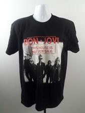 Bon Jovi This House Is Not For Sale Concert T-Shirt L Tour 2017 Las Vegas NEW