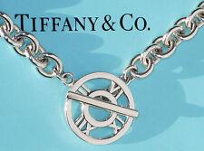 Tiffany & Co Atlas Plata de Ley Toggle Charm Pulsera
