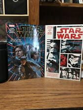 Star Wars Vol. 1 & 2 Hardcover Marvel Graphic Novel Comic Book New