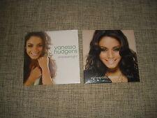 VANESSA HUDGENS - IDENTIFIED + SNEAKERNIGHT - 2xCD ADVANCE DJ PROMO REMIXES SET
