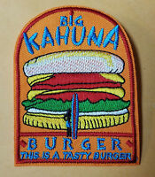 Pulp Fiction Big Kahuna Burger embroidered Logo Patch 3 3/4 inches wide