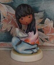 "Goebel DeGrazia ""The White Dove"" girl holding dove signed 10 314 - Mwob, Rv$125"
