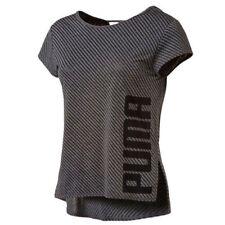 Camisetas de mujer de manga corta PUMA de poliéster