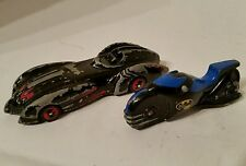 """Batman-Batimóvil & Batbike 4"""" Die Cast Figura de acción de juguete de los vehículos Hasbro 1997"""