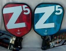 Onix Z5 Graphite Pickleball Paddle (Red & L Bue) ~ New ~ (CLEARANCE)