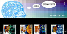 ROYAL MAIL MINT STAMPS MEDICAL DISCOVERIES 1994 PRESENTATION PACK #251 27.9.94