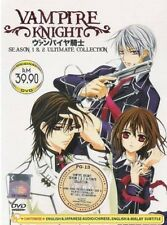 DVD Vampire Knight Season 1+2 English Dubbed + Bonus Anime