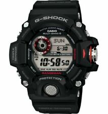Casio G-Shock GW9400-1 Rangeman Military Black Triple Sensor Atomic Watch