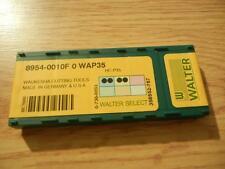 Walter grade WAP35 8954-0010F Carbide Insert 10pc