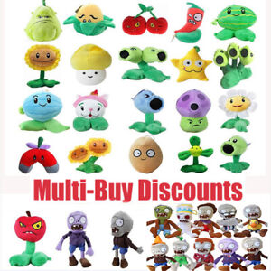 Plants vs Zombies PVZ Soft Plush Stuffed Toys Doll Game Figure Toy for Kids Gift