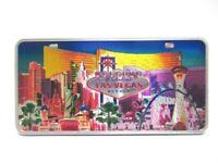 Las Vegas Laser Magnet Welcome Sign Strip Hotels Nevada Souvenir USA !