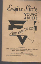 Empire State Congress Report Young Adults 1946 YMCA New York State