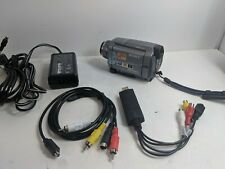 Sony Dcr-Ip55 Ntsc MicroMv Camcorder w/ Usb, Av cable, Tested Great for transfer
