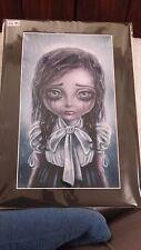 Arte por Tabitha deje que la lluvia imprimir imagen Nuevo Sellado De Tamaño Aprox A4 Goth