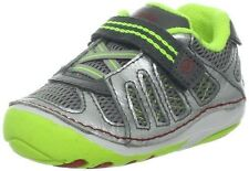 NIB STRIDE RITE Athletic Shoes  Chip Gray Silver Light Green 5 M Toddler