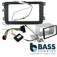 VW Scirocco  PIONEER Car Double Din Fascia Panel & Steering Wheel Interface Kit