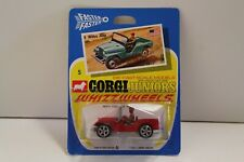 "Corgi Junior No: 5 ""Willys Jeep"" - Red (UNOPENED/Original 1970)"