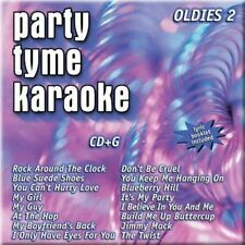Party Tyme Karaoke OLDIES 2 (CD+G, w/Lyric Booklet) Brand new! Ships FREE!
