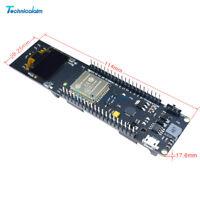 "0.96 "" inch OLED ESP32 WiFi Bluetooth 18650 Battery Development CP2102 Board"