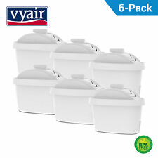 6 Refill Water Filter Cartridges Compatible with Bosch Tassimo Hot Drink Machine
