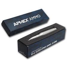 10 oz Silver Bullet - .50 Caliber BMG - SKU #92434