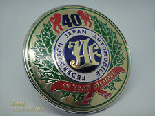 JAF 40 YEAR MEMBER JAPAN AUTOMOTIVE FEDERATION EMBLEM LOGO BADGE FRONT GRILL JDM