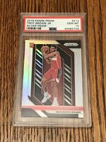 2018-19 Prizm Troy Brown Jr. Silver RC PSA 10 Gem Mint Wizards Rookie