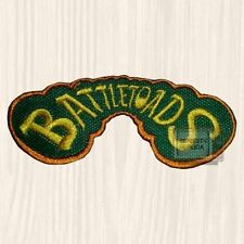 Battletoads Logo Embroidered Big Patch Console Arcade Genesis NES Double Dragon