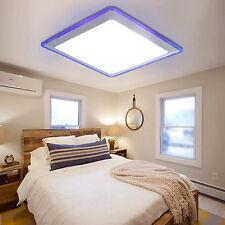 US Stock ! Modern LED Pendant Light Ceiling Lamp Bedroom Living Room Blue White